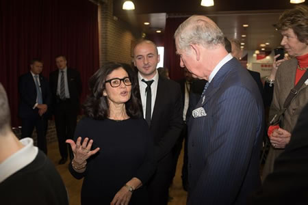 HRH The Prince of Wales visit to Yavneh College.