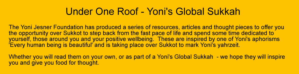 Under One Roof - Yoni's Global Sukkah