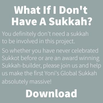 Under One Roof - What If I Dont Have a Sukkah